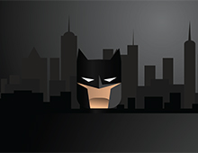Bat-art animation