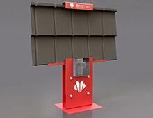 Blachprofil full steel stand design